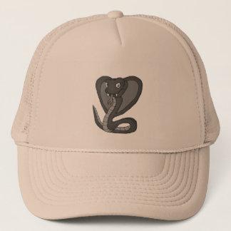 Green cobra trucker hat