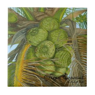 Green Coconut Tile