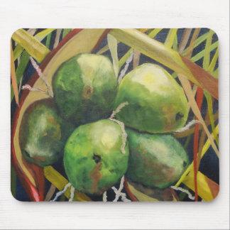 Green Coconuts Mousepad