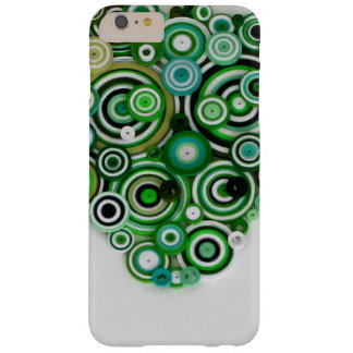 Green coils barely there iPhone 6 plus case