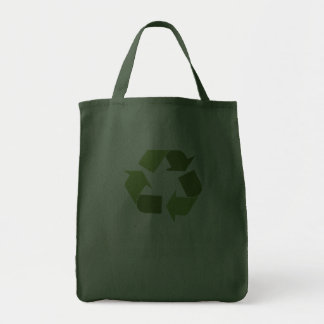 Green collar and proud grocery tote bag