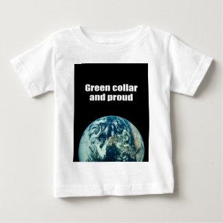 Green collar and proud t shirt