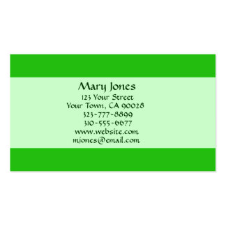 green color business card templates