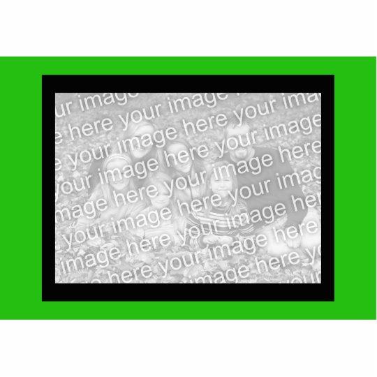 green color cutout