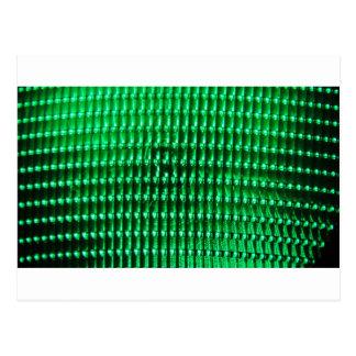 Green Color Iamge Postcard