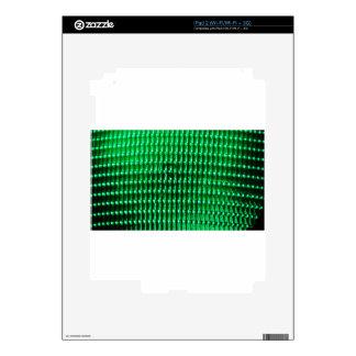 Green Color Iamge Skins For iPad 2