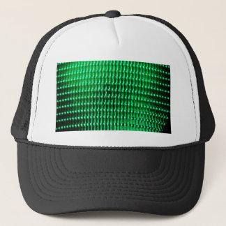 Green Color Iamge Trucker Hat