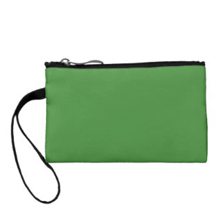 Green Color Key Coin Clutch Change Purse