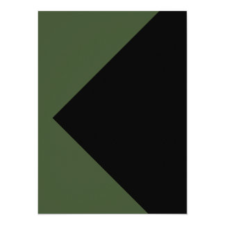 Green Color Only Tool Invitations Cards