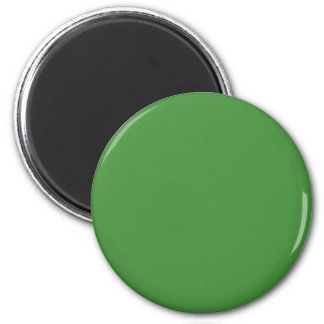 Green Color Round 2 Inch Round Magnet