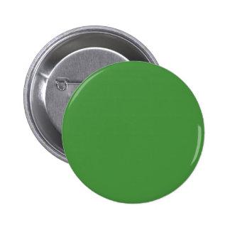 Green Color Round Pinback 2 Inch Round Button