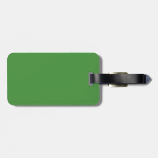 Green Color Travel Bag Tag