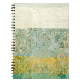 Green Colorful Paper Design Notebook
