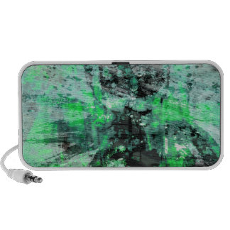 green colors war laptop speakers