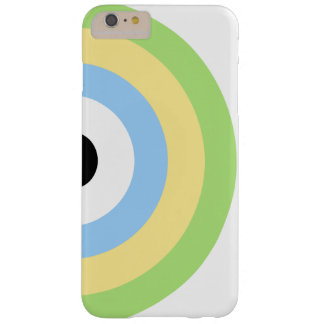Green Combination Bullseye Barely There iPhone 6 Plus Case