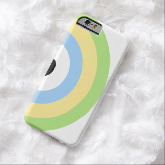 Green Combination Bullseye Barely There iPhone 6 Case