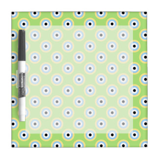 Green Combination Circles by Shirley Taylor Dry-Erase Board