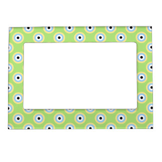 Green Combination Circles Magnetic Frame