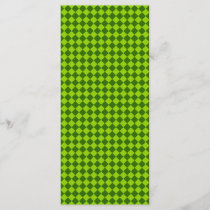 Green Combination Diamond Pattern by STaylor