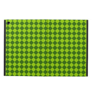 Green Combination Diamond Pattern by STaylor Case For iPad Air