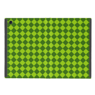 Green Combination Diamond Pattern by STaylor Cover For iPad Mini