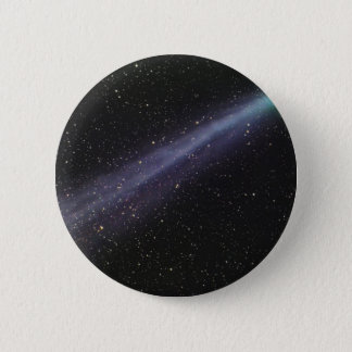 Green Comet Pinback Button