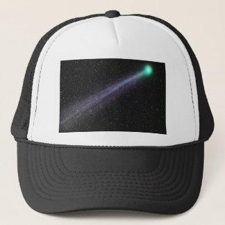 Green Comet Trucker Hat