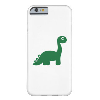 Green comic dinosaur barely there iPhone 6 case