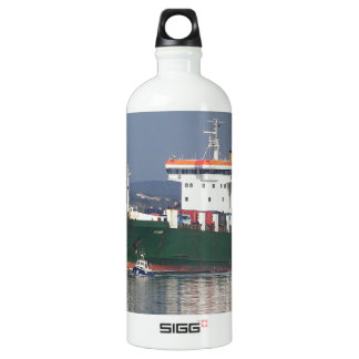 Green Commercial Vehical Ferry Water Bottle