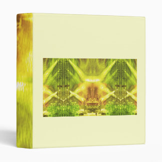 Green Conference 3 Ring Binder