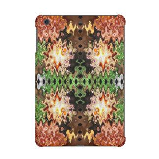 Green Copper Brown abstract design iPad Mini Retina Case
