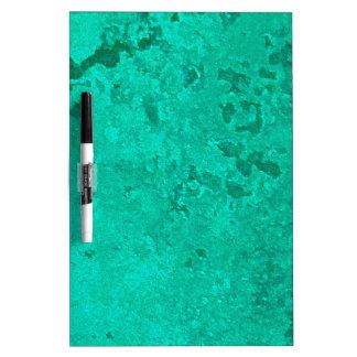 Green Copper Verdigris Patina Dot Dry-Erase Board