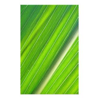 Green corn sheet Design Personalized Stationery