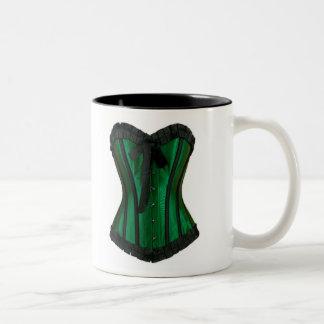 Green Corset Coffee Mug