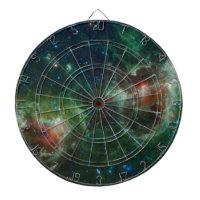 Green Cosmos Heart and Soul Nebula Maffei 1 and 2