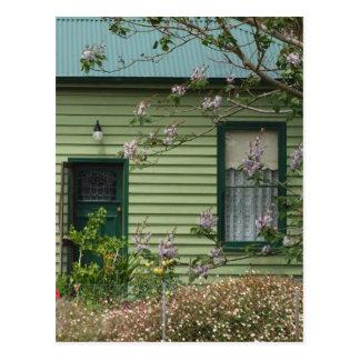Green Cottage Postcard