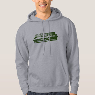 green couch hoodie