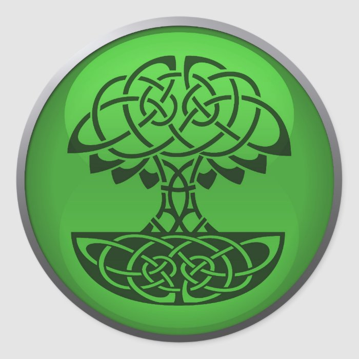 Green Council Stickers