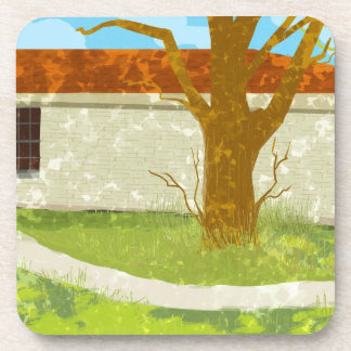 Green country house Coaster
