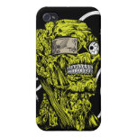 Green crazy head cases for iPhone 4