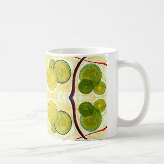 Green Cream Float Mug