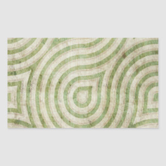 Green Cream Swirl Grunge Sticker