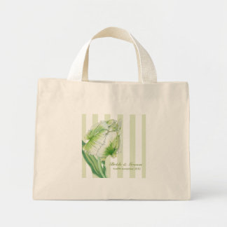 Green Cream Tulip Wedding Gift Bag