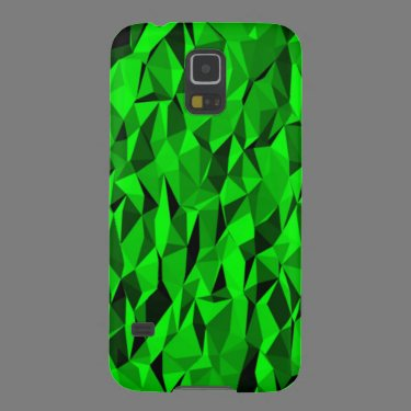 green creased pattern case for galaxy s5
