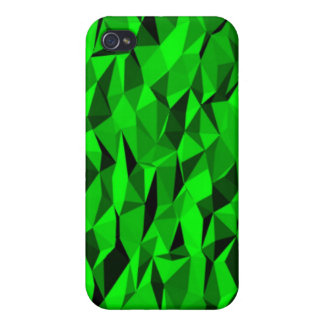 green creased pattern iPhone 4/4S cover
