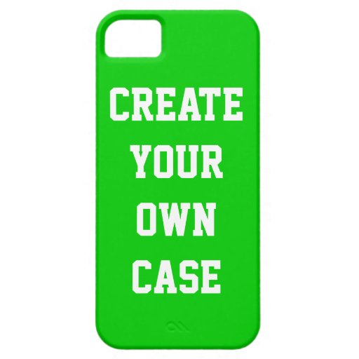 Green Create Your Own Case Iphone 5 Cover Zazzle