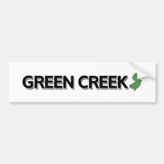 Green Creek, New Jersey Bumper Sticker