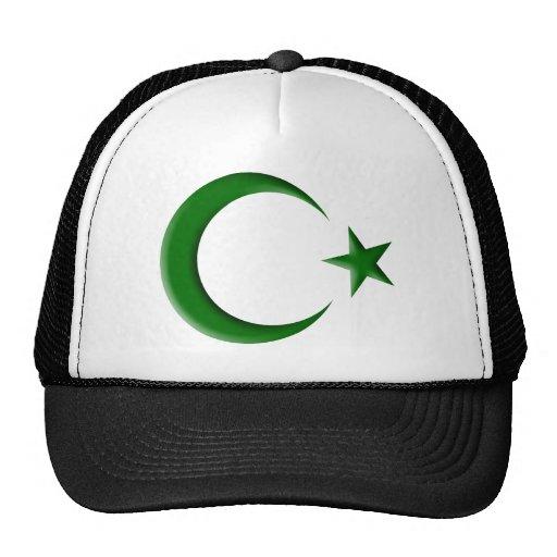 GREEN CRESCENT 3D HATS