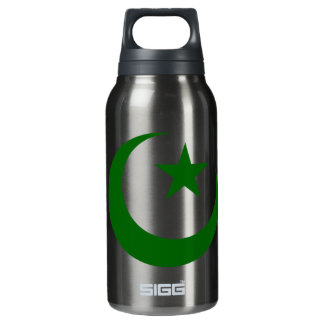 GREEN CRESCENT 3D INSULATED WATER BOTTLE