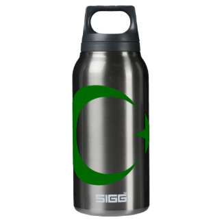 GREEN CRESCENT THERMOS WATER BOTTLE